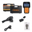 FOXWELL NT650 Elite OBD2 Automotive Scanner ABS SRS SAS DPF Oil Reset Code Reader