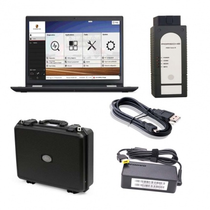 Porsche Piwis 3 Tester III PT3G Diagnostic Piwis3 V39.500 with SSD Software Installed Lenovo S1 yoga12 Laptop