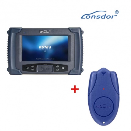 Lonsdor K518S Key Programmer + Lonsdor LKE Smart Key Emulator 5 in 1 Supports VW 4th&5th IMMO and BMW FEM/BDC