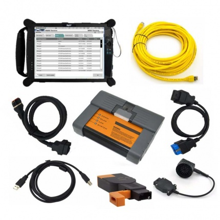 BMW ICOM A2 BMW Diagnostic Programming Tool With V2020.08 Engineers software Plus EVG7 Tablet PC Ready to Use