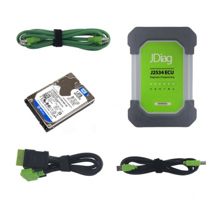 JDIAG ELITE II PRO J2534 Diagnostic and ECU Programming TOOL For BENZ/BMW /VW/VOLVO/JLR/FORD/GM/TOYOTA/HONDA/NISSAN