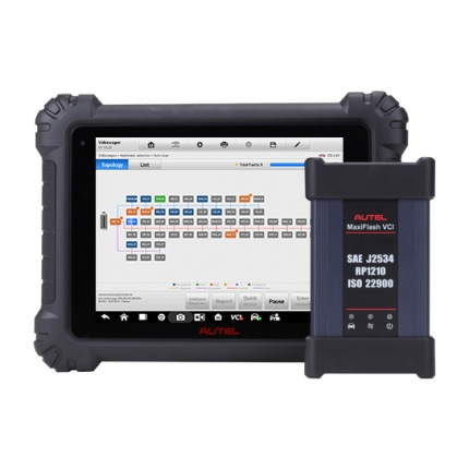 Autel MaxiSys MS909 MaxiFlash VCI J2534 Full Diagnostic Scanner with ECU Coding and Programming