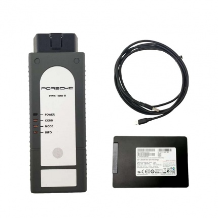 Porsche Piwis 3 Tester III Diagnostic Tool With V39.5 Software support Porsche cars from 1996 to 2020