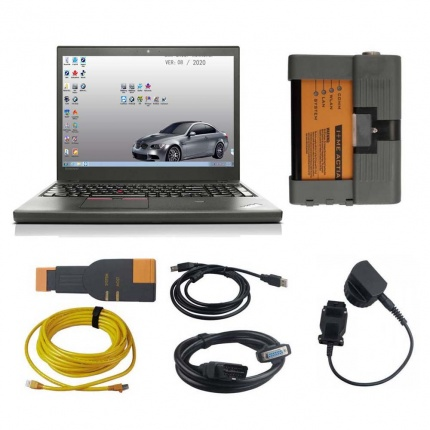 V2020.08 BMW ICOM A2+B+C BMW Diagnostic & Programming Tool With Lenovo T450 I5 8G Laptop
