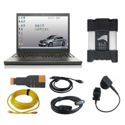 V2020.08 BMW ICOM NEXT A+B+C Diagnostic Tool Plus Lenovo T450 I5 8 G Laptop With Engineers software