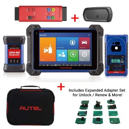 Autel MaxiIM IM608 PRO Auto Key Programmer & Diagnostic Tool Plus APB112, G-BOX2 & IMKPA Accessories for Renew & Unlock