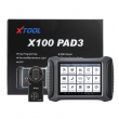 XTOOL X100 PAD3 Auto key programmer odometer adjustment OBD2 car diagnostic tool with KC100