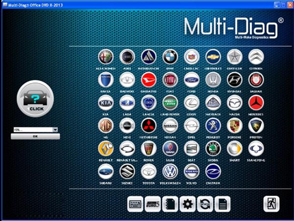 Us 150 00 Multi Diag Access J2534 2014v Universal Obdii