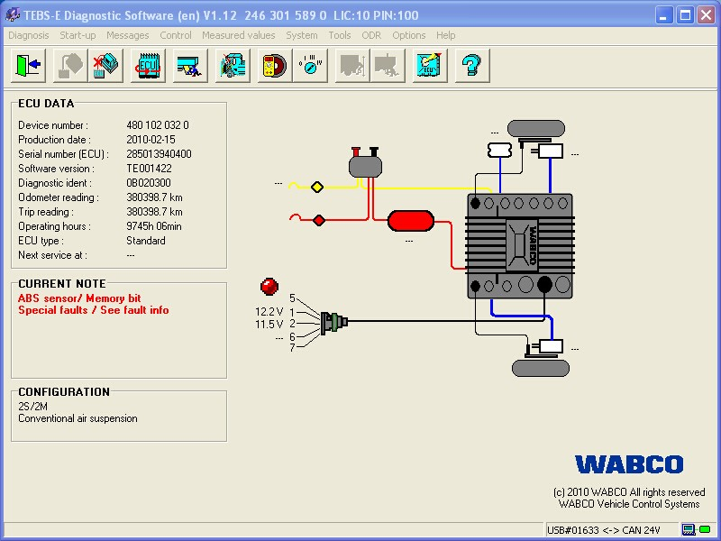 Looking for the very latest WABCO diagnostics software