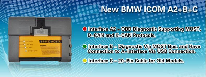 US$308 00 - Best Quality 2019 03 BMW ICOM A2 +B+C Diagnostic
