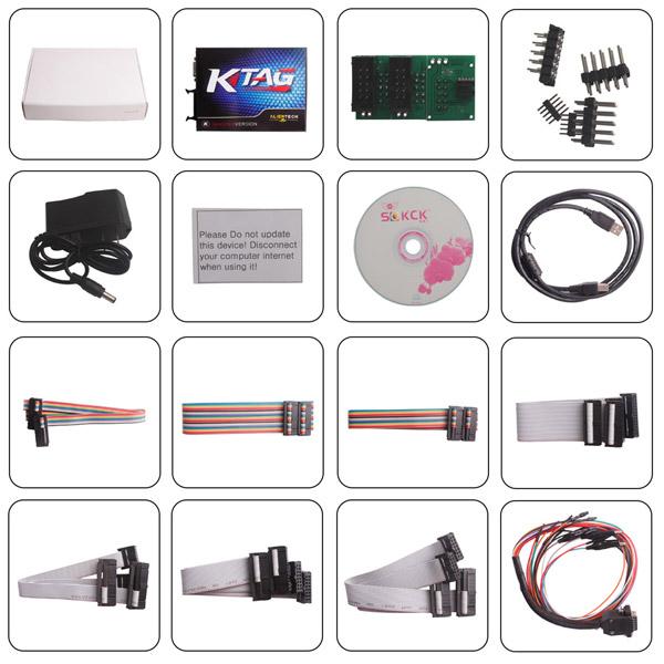 US$72 00 - KTAG V7 020 Red PCB Firmware K-TAG 7 020 Master Software