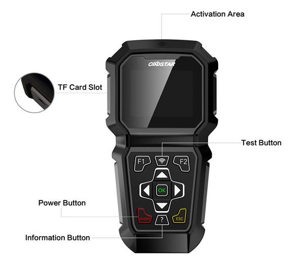 OBDSTAR TP50 Intelligent Detection On Tire