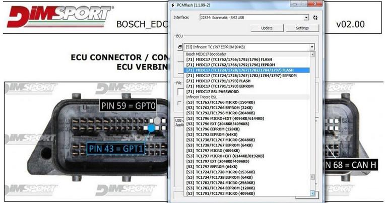 US$339 00 - KTM BENCH Read&Write ECU Via Boot/Bench No Open ECU