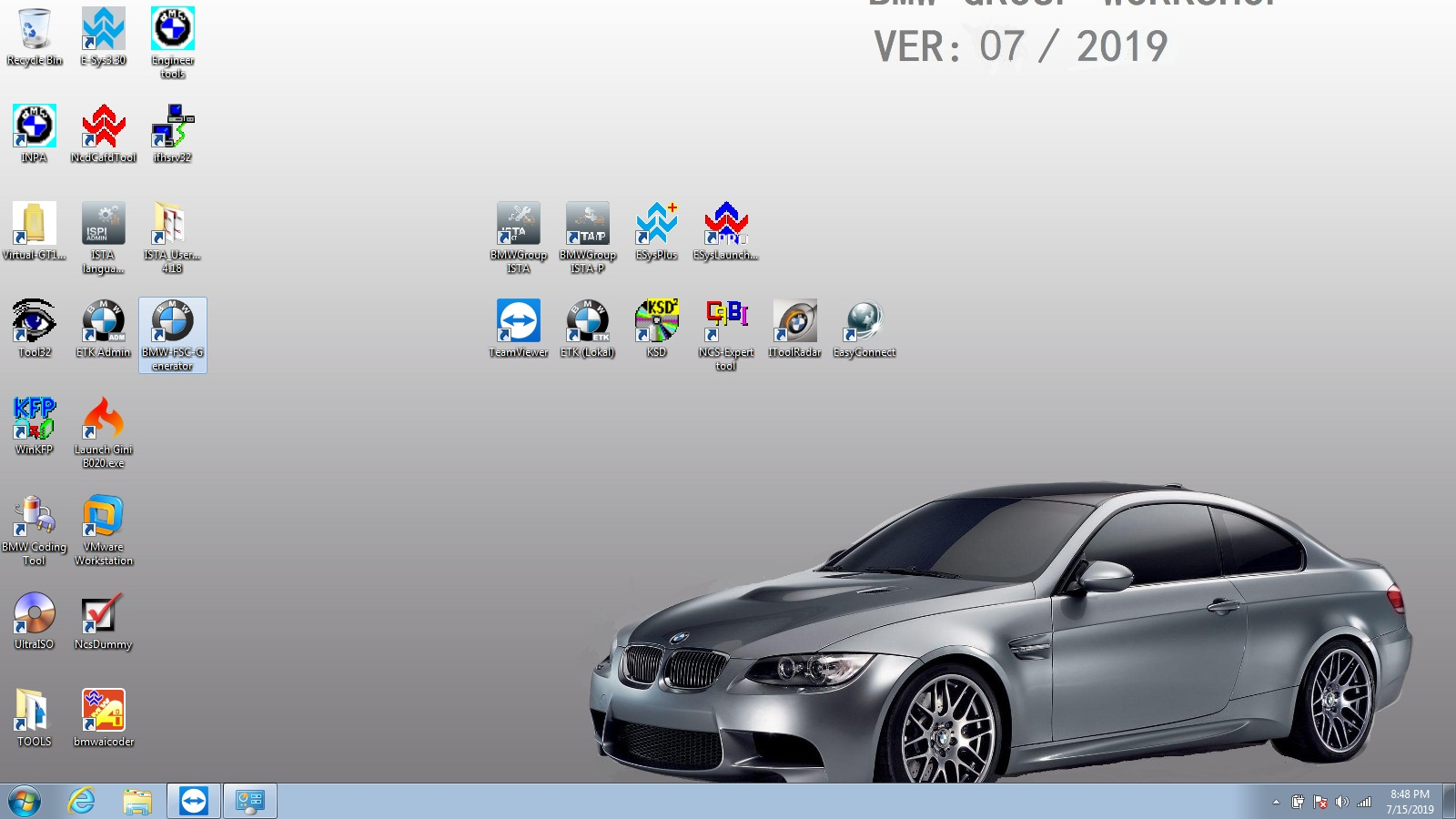 US$799 00 - BMW ICOM NEXT A + B + C with 2019 07V Software Plus EVG7