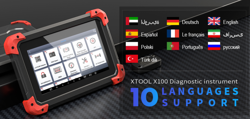 US$395 00 - XTOOL X-100 X100 PAD Tablet Key Programmer with EEPROM
