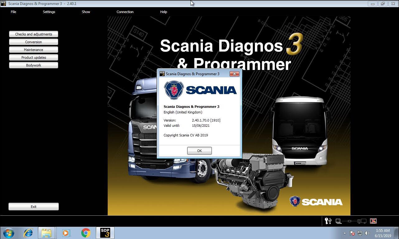 Us 148 00 Best Quality Scania Vci 3 Vci3 Scanner Wifi