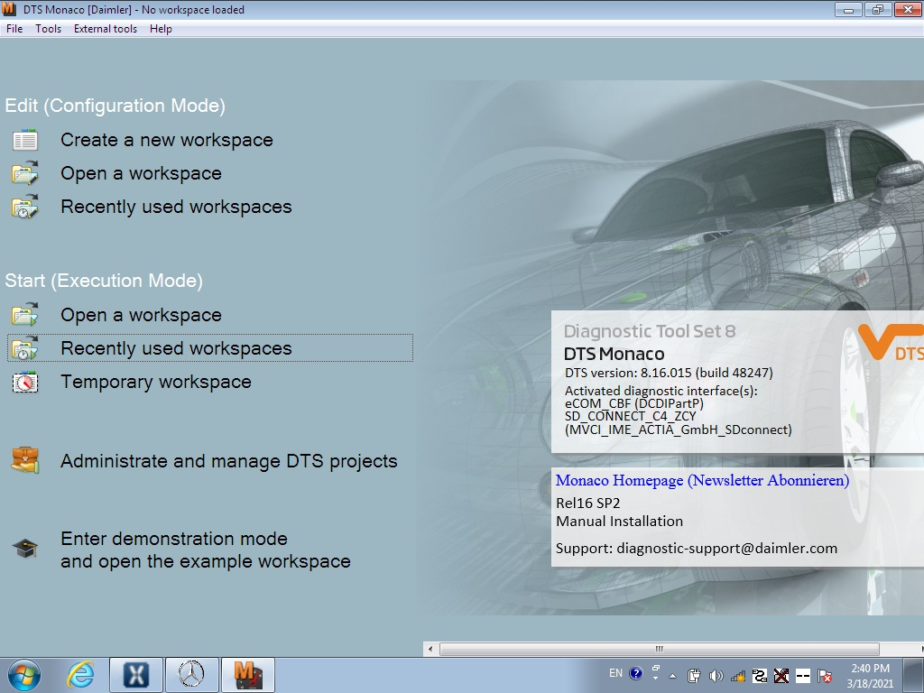 mb star software